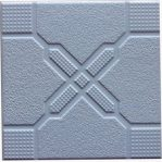Keramik Lantai Pegasus Cross Emboss Light Blue 20×20