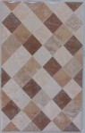 Keramik Dinding Mulia Signature Diamond Art Brown 25×40