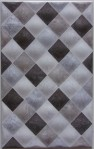 Keramik Dinding Mulia Signature Diamond Art Grey 25×40